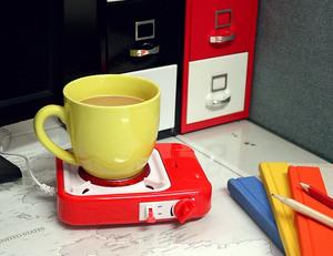 USBガスストーブカップウォーマー