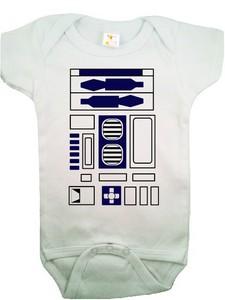 R2-D2ロンパース